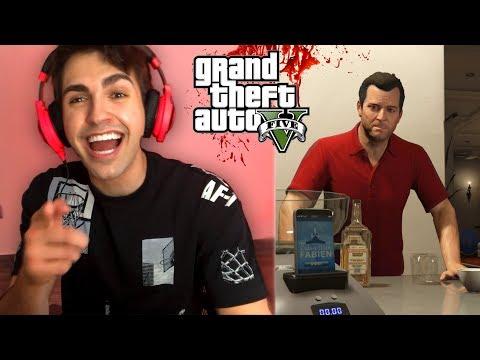 TERROR EN CASA DE MICHAEL !! (misterios) - Grand Theft Auto 5