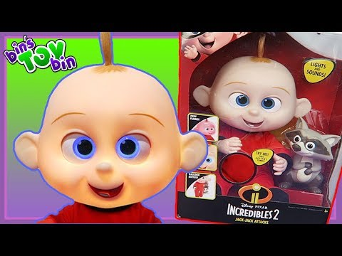 Jack Jack Attack - Incredibles ii Action Doll