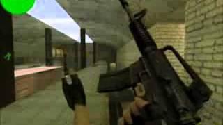 Обучение кс 1.6 - Прострелы в карте de_train