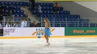 Танец Елены Радионовой ( Elena Radionova ) памяти Дениса Тен ( Denis Ten )- 2018/11/07