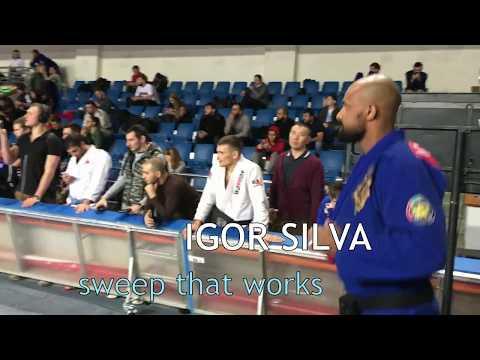 Igor Silva - sweep  that works BJJ