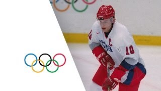 Ice Hockey's Russian Rocket Pavel Bure - Nagano 1998 Winter Olympics