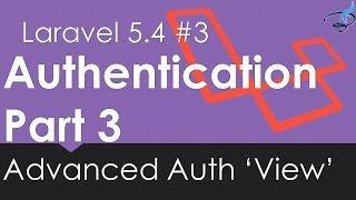 Laravel 5.4 Authentication | Advanced Auth View #3 | Bitfumes