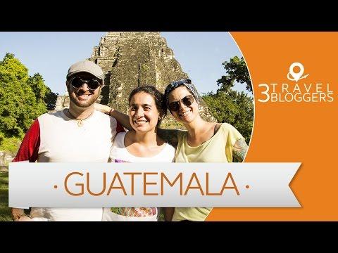 Viaje a Guatemala - 3 Travel Bloggers (Laura Lazzarino, JL Pastor y Gaia Passarelli)