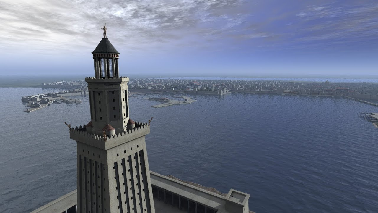Image result for Lighthouse of Alexandria