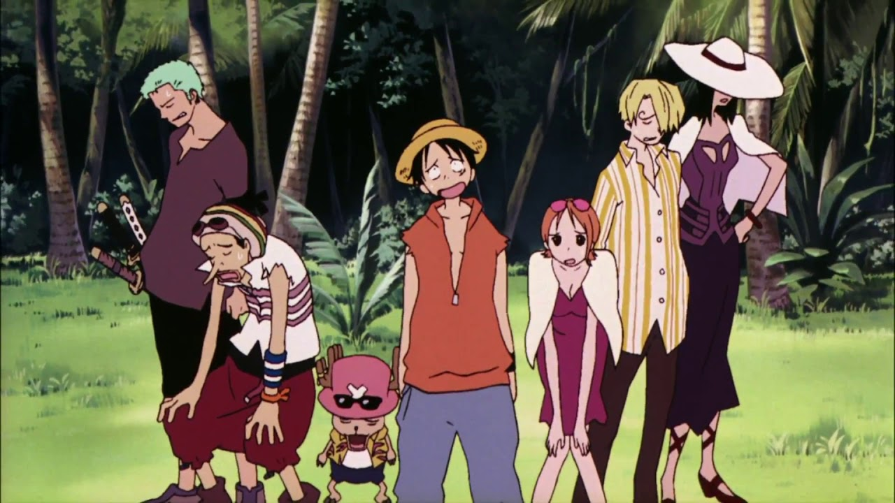 One Piece Movie 6 Trailer - Baron Omatsuri and the Secret Island (2005) - YouTube