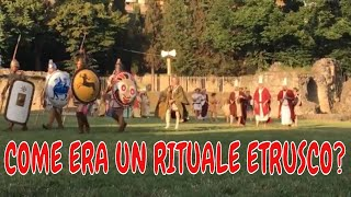 Antichi Popoli alla ricostruzione di un rito etrusco. Arezzo Back in Time 2016
