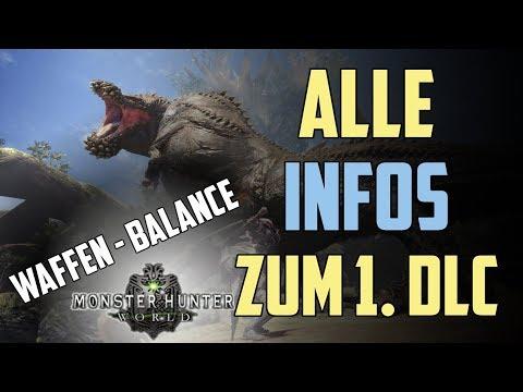 MHW : ALLE INFOS ZUM 1. DLC - Waffen Balance | Dämonjho | Frühlings Fest uvm | News Deutsch / German