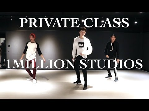 1 on 1 DANCE TRAINING WITH KASPER (1MILLION DANCE STUDIO)