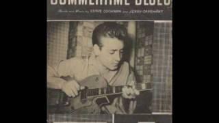 Eddie Cochran - Summertime Blues ( 1958 )