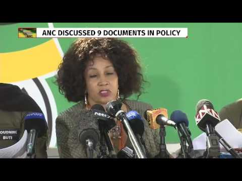 Social transformation commission report #ANCNPC