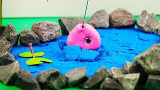 Stop Motion Cooking  When Fishing Goes Wrong  ASMR