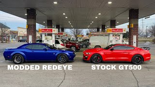 MODDED 2019 Redeye vs STOCK 2020 GT500