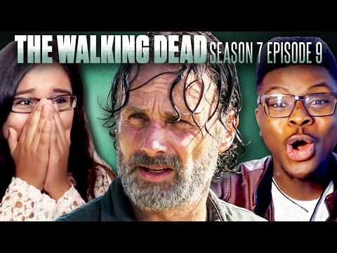 "The Walking Dead: Season 7B Premiere ""Rock in the Road"" Fan Reaction Compilation!"