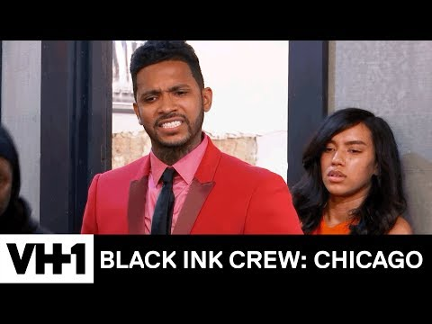 Ryan & Van Get Physical At The 9 Mag Anniversary Party   Black Ink Crew: Chicago