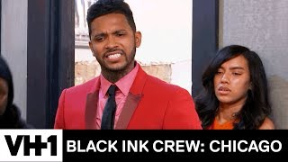 Ryan & Van Get Physical At The 9 Mag Anniversary Party | Black Ink Crew: Chicago