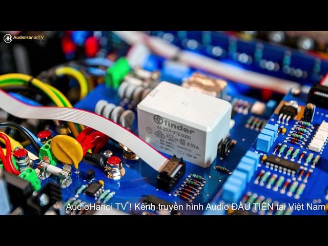 [AudioHanoiTV]114: Review Stereo power ampli Audia Flight Strumento n°4 MK2