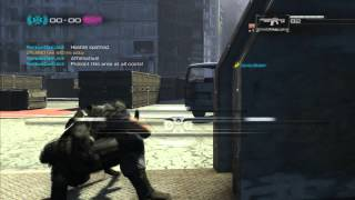 A standard Binary Domain multiplayer match