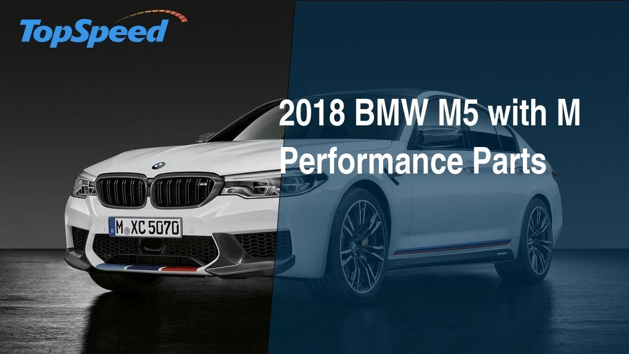 2018 bmw m5 with m performance parts youtube