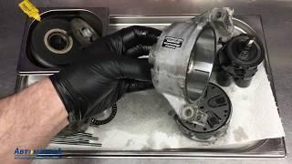 Toyota Yaris - грохочет компрессор кондиционера. Выполняем ремонт.