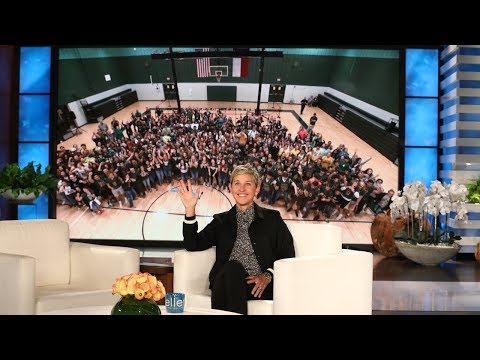Ellen Surprises High School Students with Biggest Gift Ever