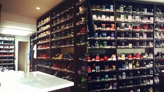 Ray Allen's Insane Shoe Closet
