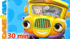 🚍 Wheels on the Bus and More Nursery Rhymes and Kids Songs | Dave and Ava 🚍