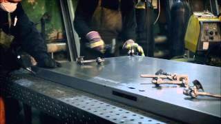 Технология производства противопожарных металлических дверей ООО Вымпел 45