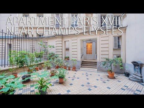 Apartement Arc de Triomphe Champs Elysées Paris XVIIIe ref : 91102DPE75