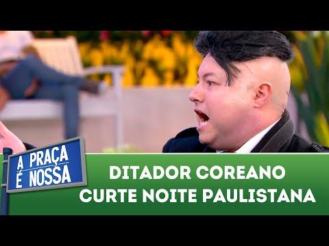 Ditador coreano curte noite paulistana | A Praça é Nossa (02/08/18)