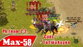 Trận PK VL2 Team 2-2 Xuyên Lục Địa - Thần Thánh Là Đây