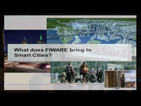 Using the FIWARE platform for the Internet of Things - Eclipse IoT Day Grenoble 2016