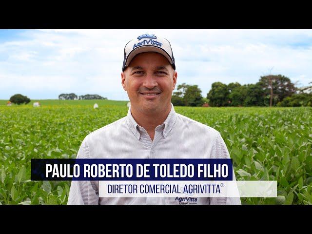 Paulo Roberto de Toledo Filho   Diretor Comercial AgriVitta®️
