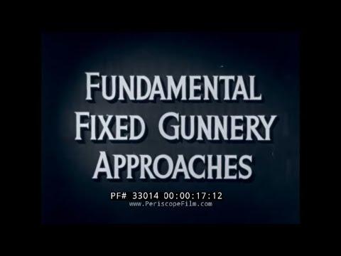U.S. NAVY AIR COMBAT TRAINING FILM BY WALT DISNEY   FIXED GUNNERY APPROACHES  33014
