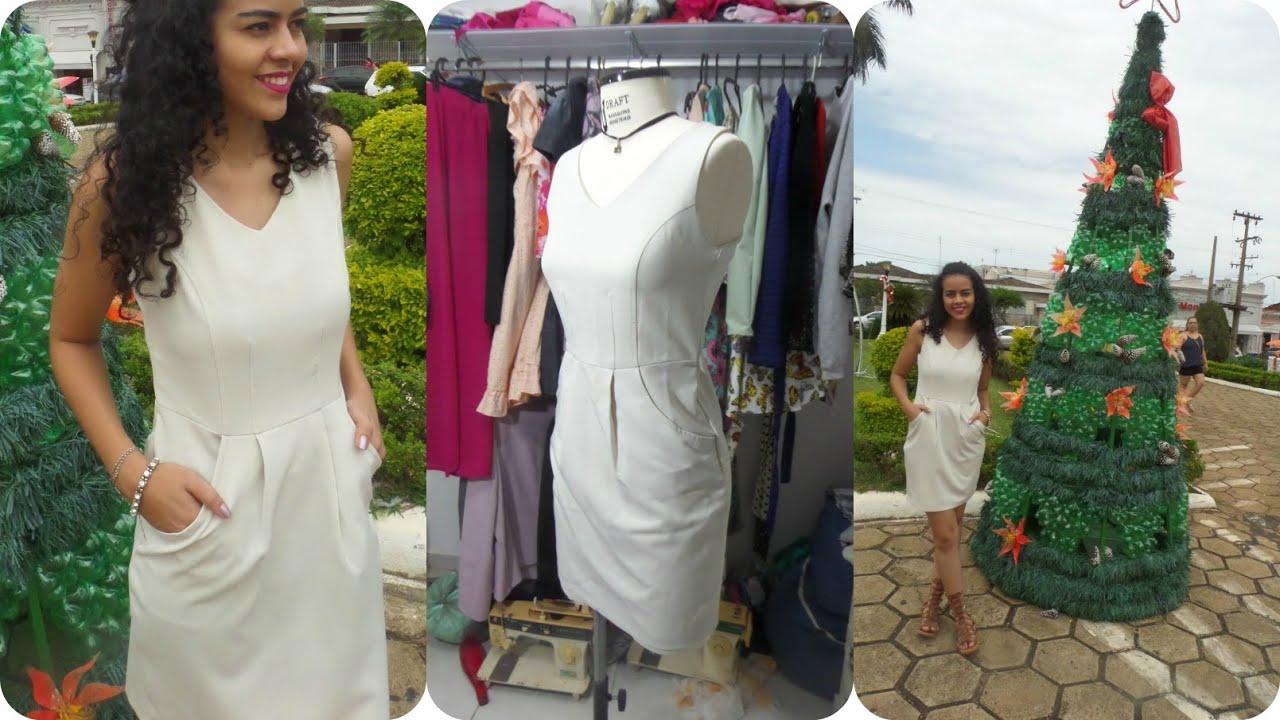 b8b7e35aa3 Vestido com bolso Alana Santos Blogger - YouTube