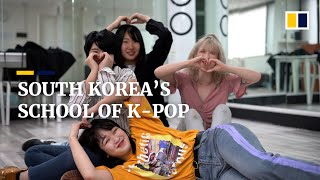 K-pop school in South Korean capital helps young artists chase dreams of being international idols