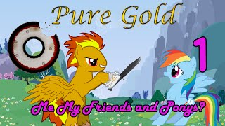 Repeat youtube video Me my friends and ponys? (Part 1) - A My Little Pony Fanfic (EXPLICIT)