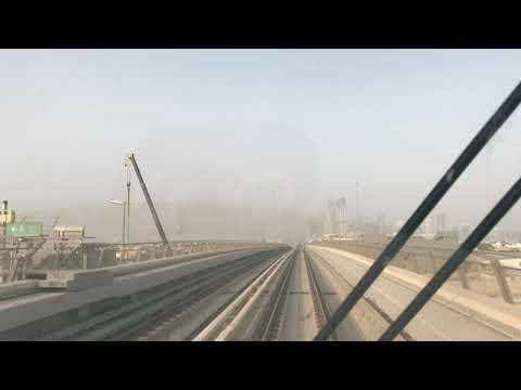 Dubai Metro Red Line 4k (2018)