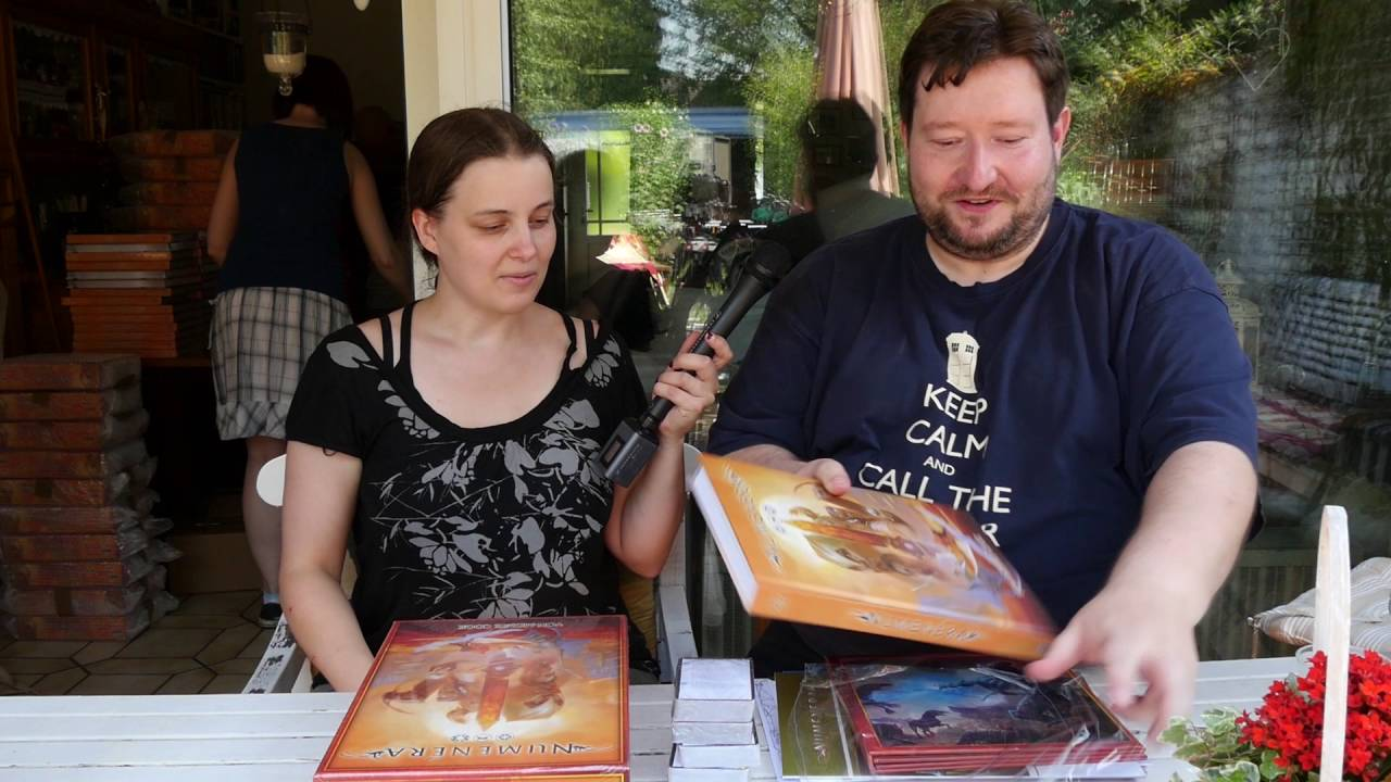 Numenera: Boxing-Video von der Pack-Aktion