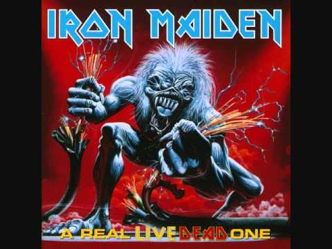 Iron Maiden - Afraid To Shoot Strangers [A Real Live Dead One]