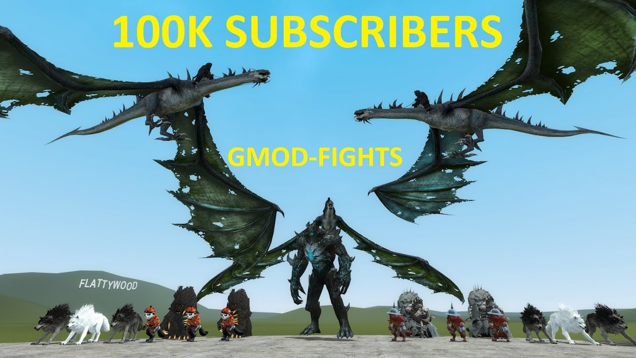 100k SUBSCRIBERS! GMOD-FIGHTS - THANK YOU!