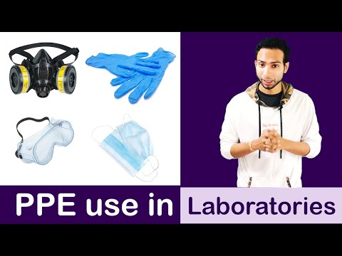 Personal Protection Equipment's Use In Medical Laboratories
