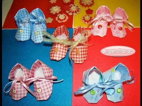 Origami Maniacs 67 Baby Shoes