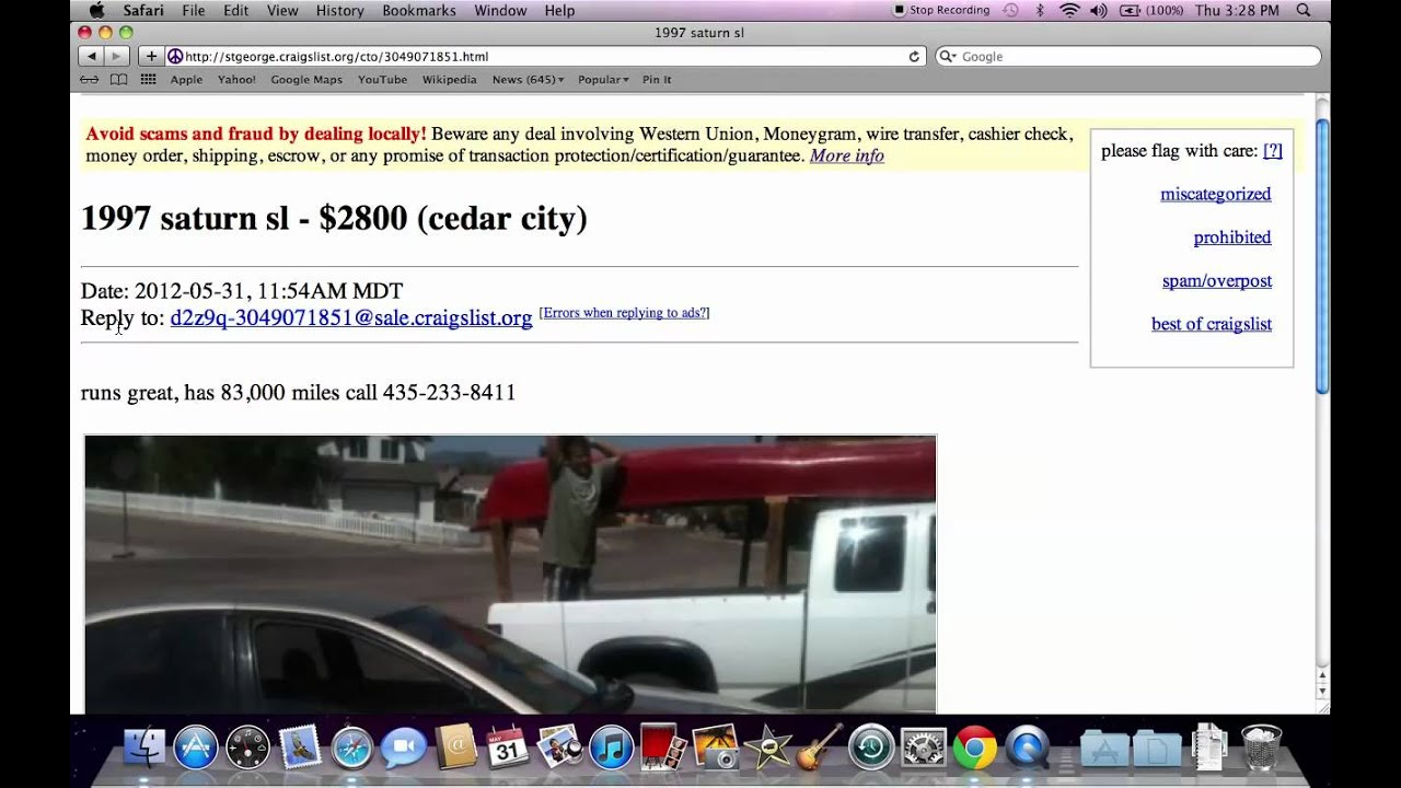 Craigslist St George Utah - Used Local Cars for Sale by Owner Private  Options in June 2012