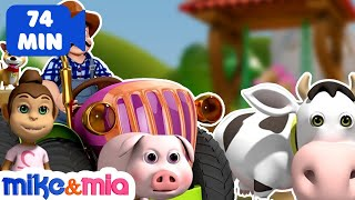 Old MacDonald Had a Farm | Animal Sounds for Children | Nursery Rhymes | Kids Songs by Mike and Mia