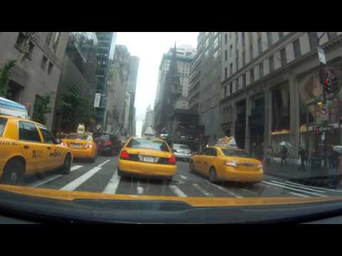 New York City TAXI FRONT POV