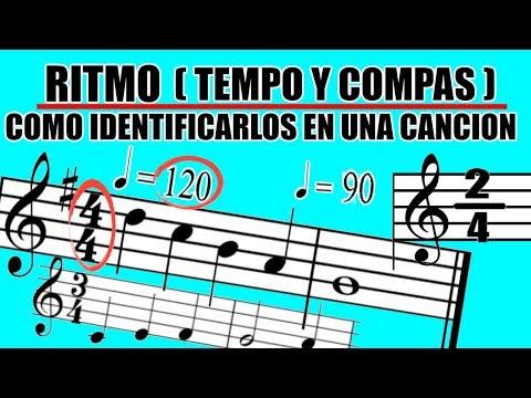 Ritmo (Tempo y Compas ) Teoría Musical – Como encontrar el Tempo y el Compas de una canción