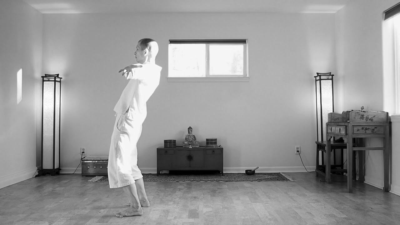 Undulating improvisation on Yoga Synergy Spinal Movement
