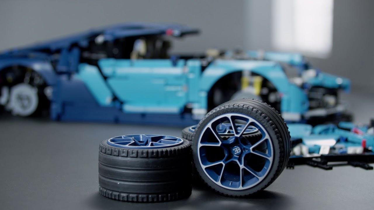 Lego Technic Bugatti Chiron Model Youtube