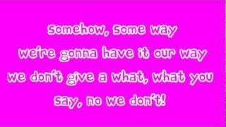 Cher Lloyd ft. Busta Rhymes - Grow Up (Lyrics)